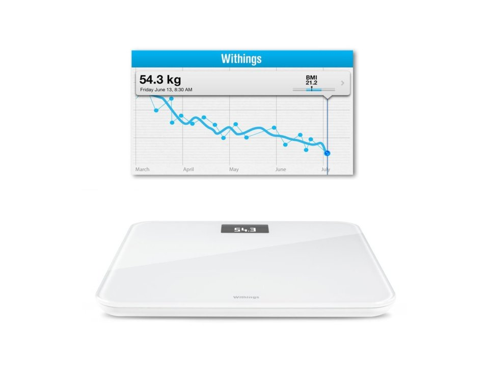 Withings WS30 iPhone bathroom scale