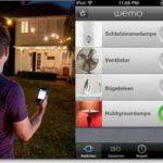 Belkin Wemo schaltbare Steckdose mit iPhone und iPad