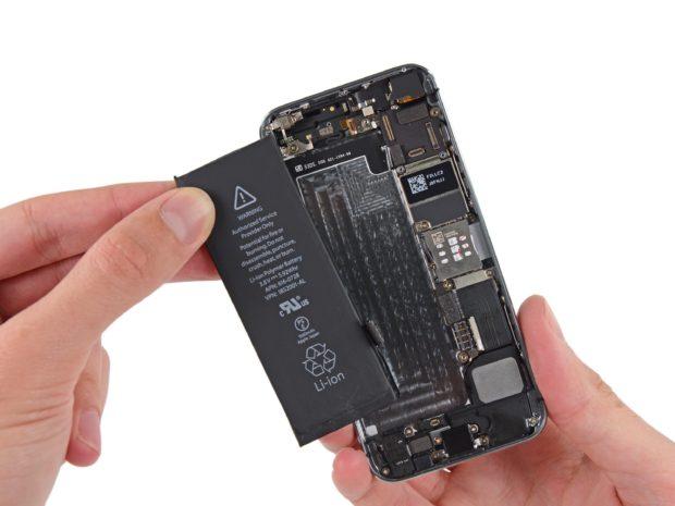 Der Akku des iPhone 5 hat 1440 mAh