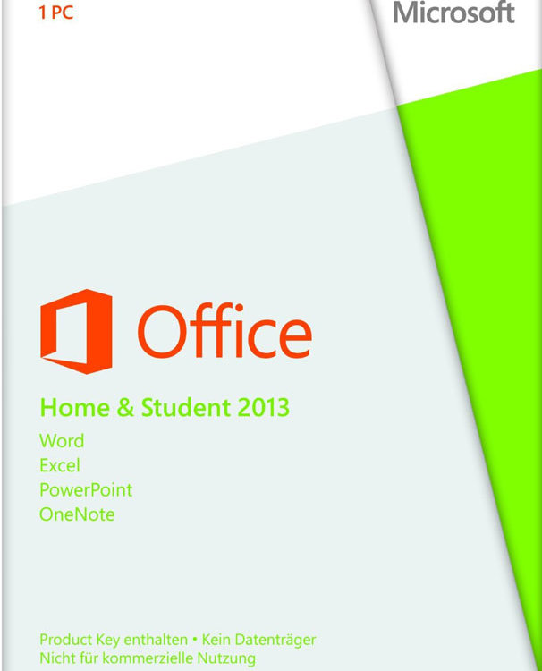 Microsoft Office Home and Student 2013 PC