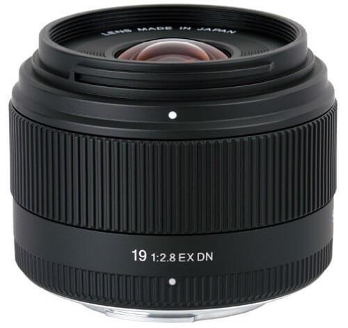 Sigma 19mm Objektiv für Sony E Mount