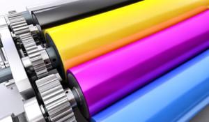 CMYK Farblaserdrucker