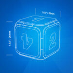 Dice+: Der digitale Bluetooth-Würfel für iPad-Brettspiele