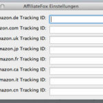 Firefox Addon AffiliateFox macht Amazon ASIN Links