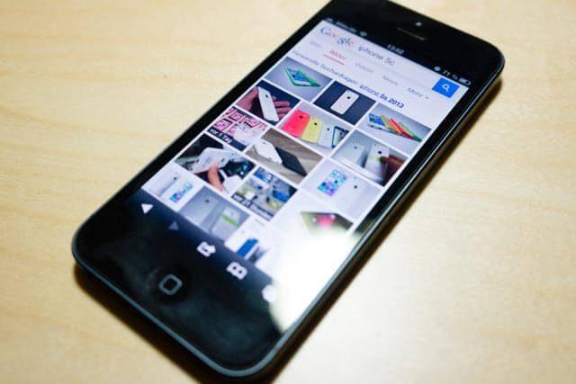 iPhone 5c Foto