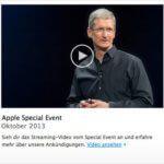 iPads, Mac Pros und Mac OS X Mavericks – alles neu macht der Oktober