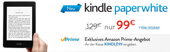 Kindle Paperwhite HD Angebot