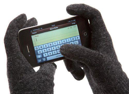 Winterfinger Handschuhe quer