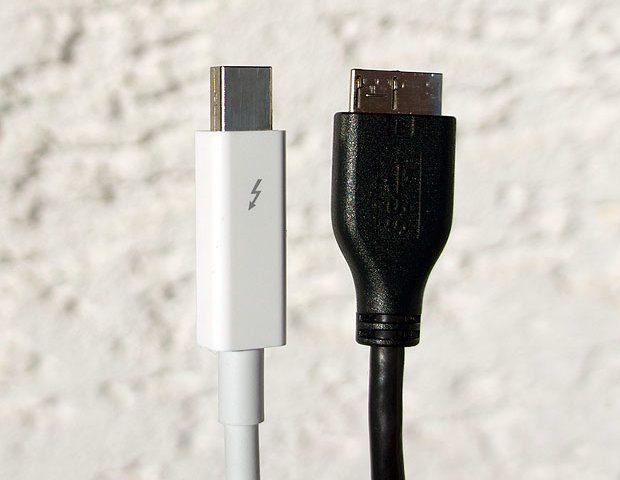 USB 3 oder Thunderbolt