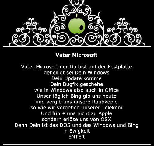 Vater Microsoft