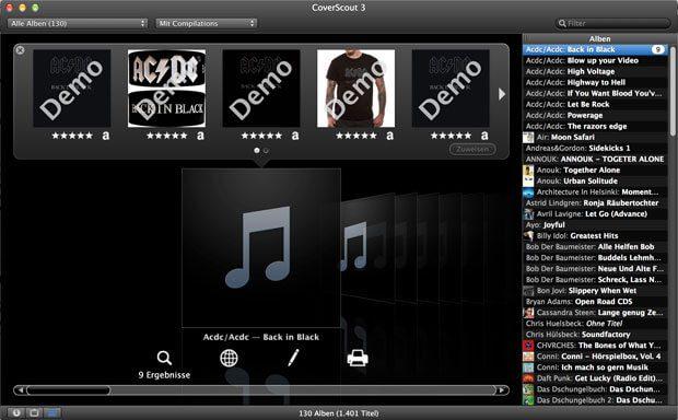 CoverScout 3 Mac Screenshot