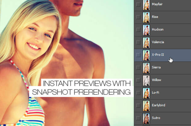 Instant Hipster Photoshop Actions