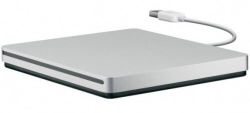 Apple SuperDrive extern mit USB-Stecker