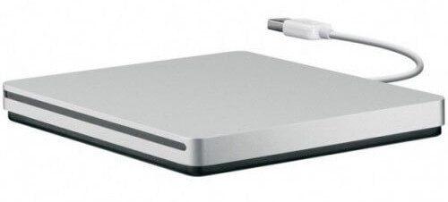 Apple SuperDrive extern mit USB-Stecker