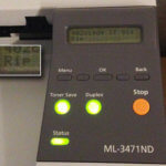 RIP: Mein Laserdrucker Samsung ML-3471ND meldet sich ab…