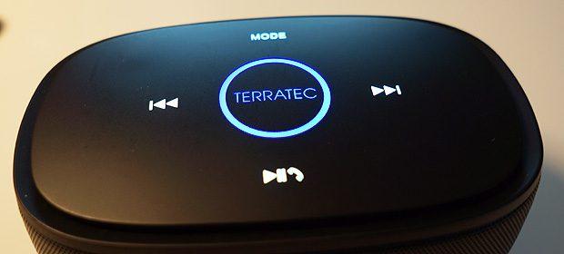 Oberseite des TerraTec Concert BT Mobile Boost