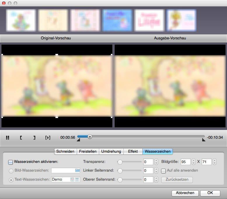 Clip bearbeiten MAC DVD Ripper
