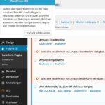 Deaktivieren von Popup-Nachrichten im WordPress Admin