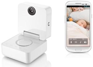 Mit dem Withings-Babyphone das Baby im Blick behalten.