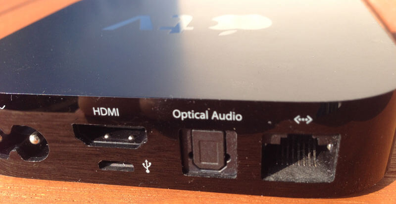 Apple TV optical Audio