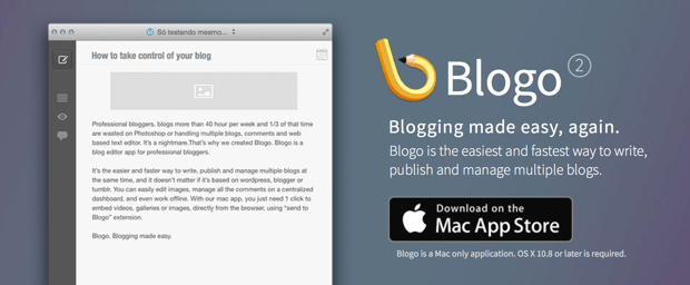 Blogo Bloggin-App