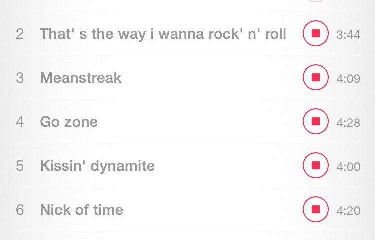 AC/DC Tod durch iOS 8.0.2 und Siri
