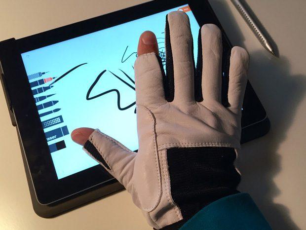 iPad Schutzhandschuhe