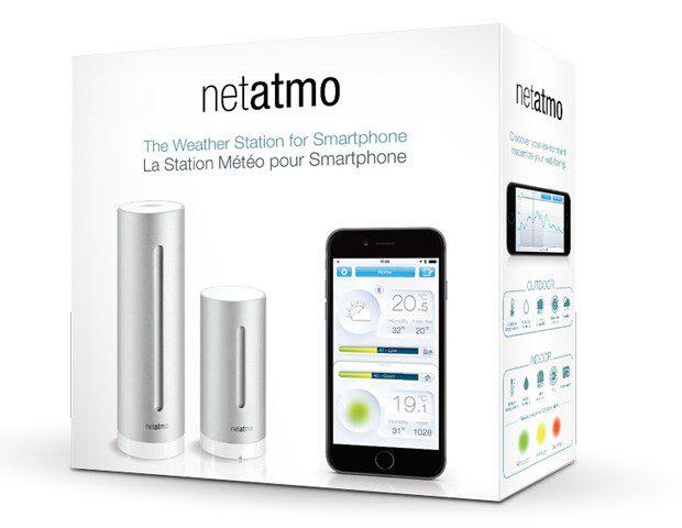 Netatmo WLAN Wetterstation Paket