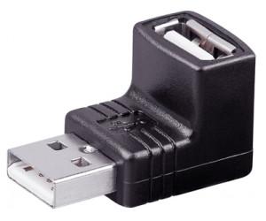 USB Winkeladapter von Goobay