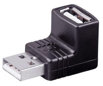 USB-Winkeladapter von Goobay