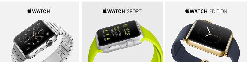 Apple Watch Kollektionen