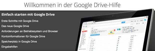 Google Drive Hilfe