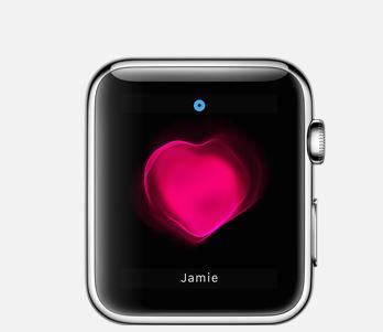 Herzschlag auf der Apple Watch