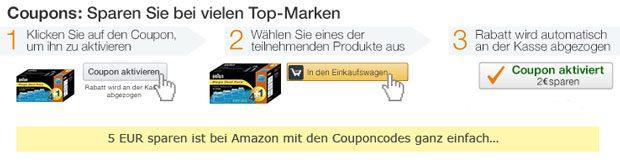 amazon rabatt coupon
