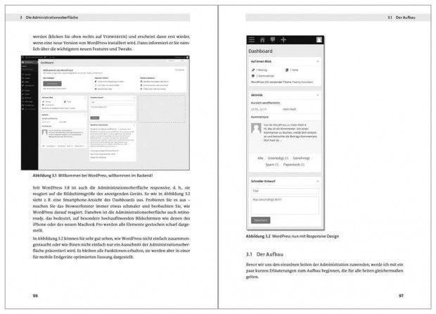 Wordpress 4 von Galileo – Innenseiten