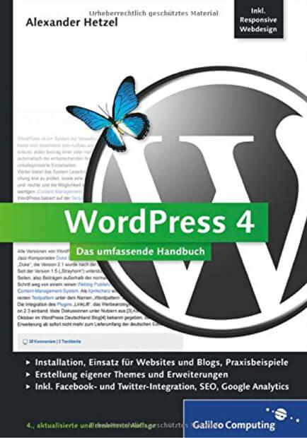Wordpress 4 Handbuch von Galileo