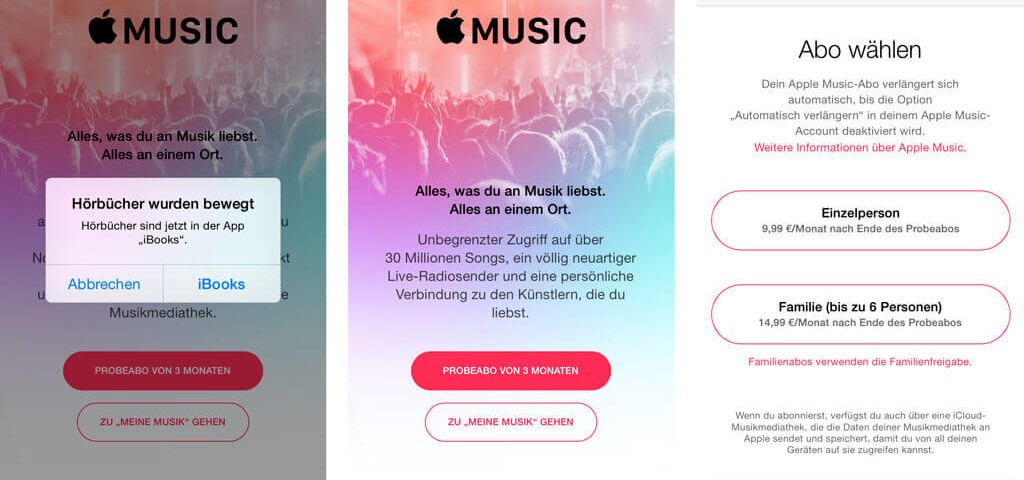 Apple Music Installation