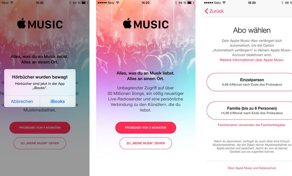 Apple Music Installation