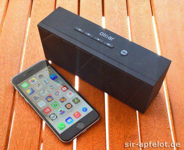 BoomBrick im Vergleich zum iPhone 6