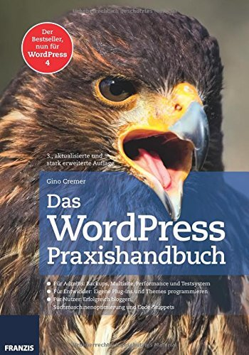 Wordpress Praxishandbuch. Foto: amazon
