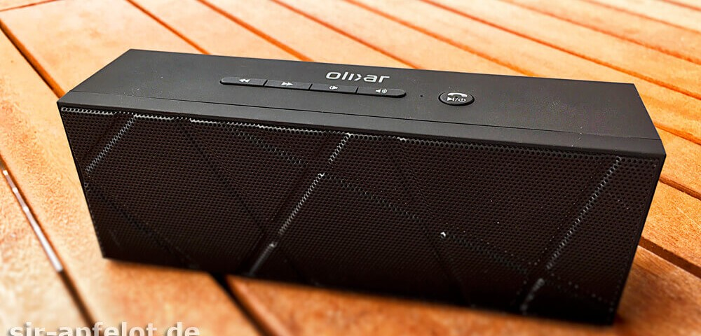 olixar BoomBrick Bluetooth Lautsprecher