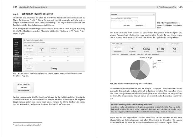 Das WordPress Praxishandbuch liefert auch viele Tipps zur Optimierung der Performance.