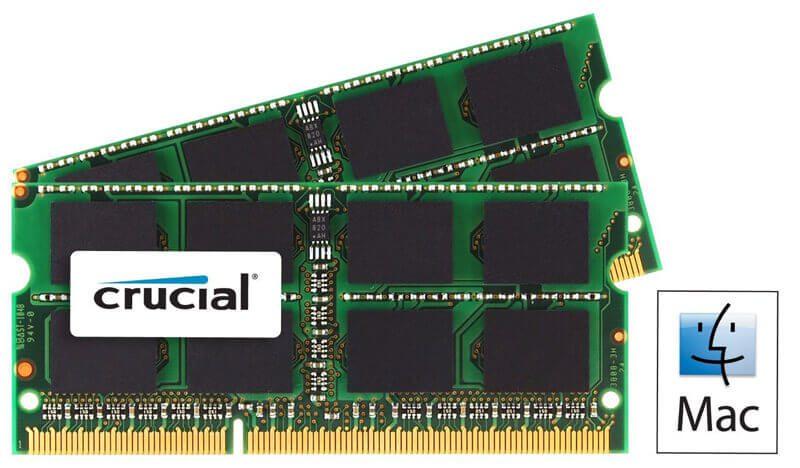 2x 8 GB RAM von Crucial