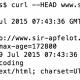 HTTP Header Ausgabe