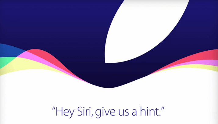 Apple Event am 9. September 2015