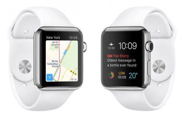 Apple Watch OS 2 – Uhrenfotos