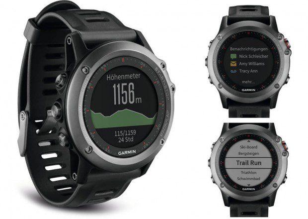 Garmin Fenix 3 Smartwatch mit GPS