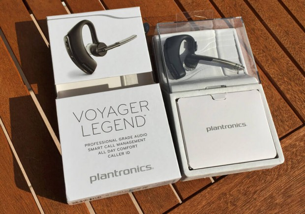Plantronics Voyager Headset Packung