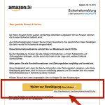 Achtung Betrüger: Amazon Phishing E-Mail möchte eure Bankdaten klauen