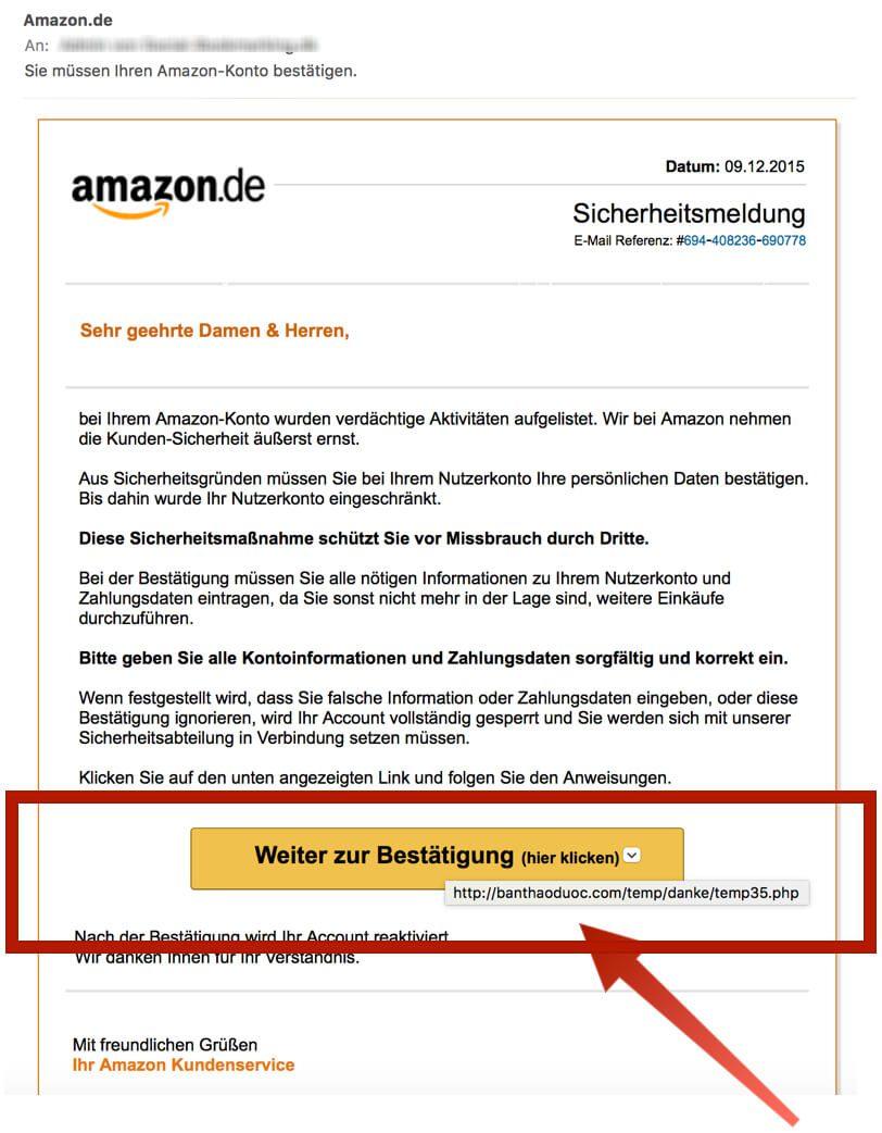 Amazon Konto Russische Email